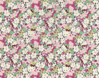 hello kitty x liberty art fabric  2013 - Last series - best selection - hide and seek - kakurenbo- fat quarter - pink mix