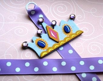 Purple Princess Crown Bowholder