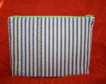 Stitch Sampler Zip Pouch