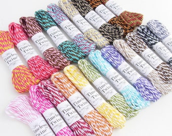Bakers Twine by Timeless Twine - 5 yd Bitty Bundles