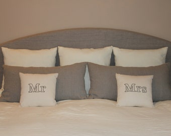 CUSTOMIZABLE 100% Flax Linen Pillows Covers