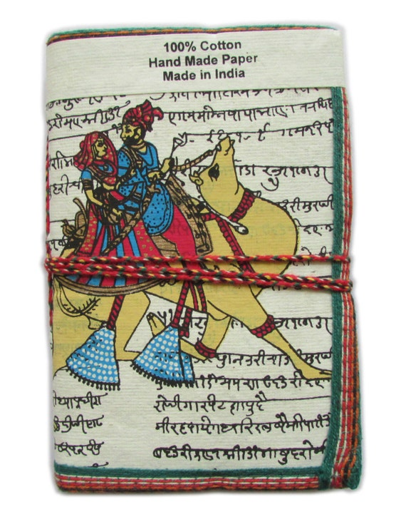 Extra Large Diary Rajasthan Design King Queen Love Blank