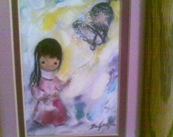 Vintage De Graizia..............framed print