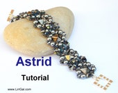 Astrid SuperDuo&Pyramid beads Bracelet PDF Tutorial