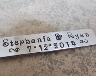Personalized Custom Hand Stamped Charm Tags for your Project