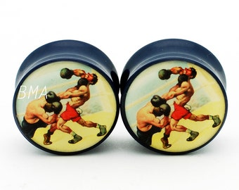 "7/16"" Boxers Plugs (11mm)"