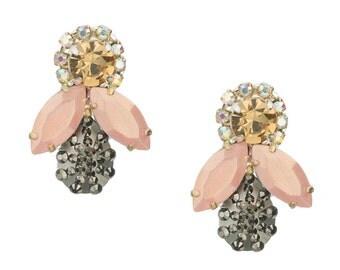 SALE- Honey Bee Earrings- Selene
