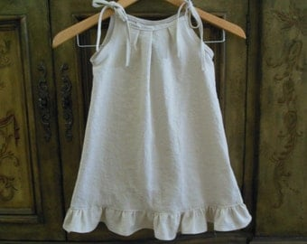 Childs linen dress