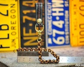 the Subtle Teen: belt fob w/ insane brass chain for wallets  #8