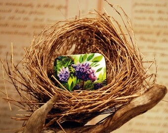 Tiny Bits of Nature - Wisteria - Brooch