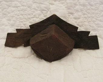 Antique Wood Carved Salvage Piece SALE