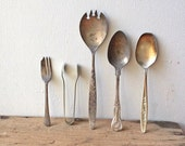 Collection of Vintage Silver Cutlery
