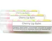 Cherry Lip Balm - soothing mix of natural butters and oils