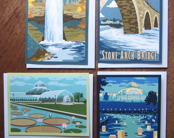 Twin Cities Landmark Collection Note Card Pack