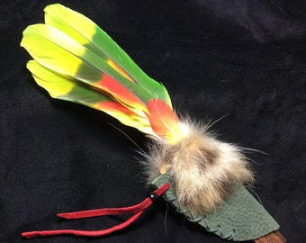 Fire Within Smudging Feather --10 inches