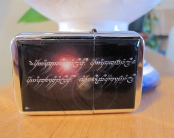 Elvish Black Speach Fantasy Refillable Windproof Lighter