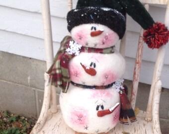 Snowmen Stick Together