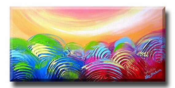 Bubblegum art, pop music, sand dunes, gentle wind, forest tress art, mix media painting, pink blue yellow blue orange