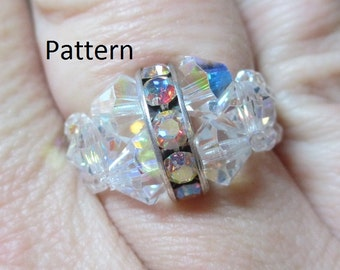 Rockin Rhinestone Ring Pdf Tutorial (INSTANT DOWNLOAD)