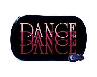 Pink Dance Gradient Cosmetic Bag