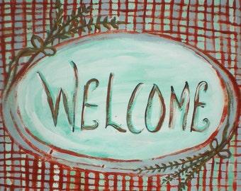 Welcome 8.5 x11 Print