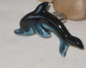 repurposed vintage Jewelry - a Porcelain Dolphin ring for your finger