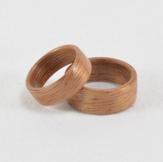 Eheringe Partnerring Holz Ring. Zweifarbige Bentwood Trauringe Holz ...