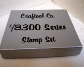 Vintage Craftool leather stamp set - 48300 series animals