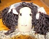 Primitive Doll Fly Away Home Blackbird   HAFAIR