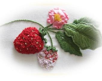 Ornamental Strawberry Pattern and Print kit