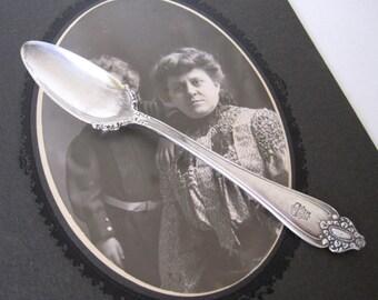 Antique Silverplate Fruit Spoon by Meriden Brita Co.