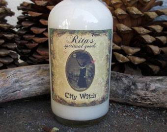 Rita's City Witch Bath and Floor Wash for Inner Strength, Good Fortune, Banish Negativity, Wisdom