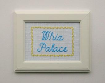 Whiz Palace - Cross Stitch Pattern