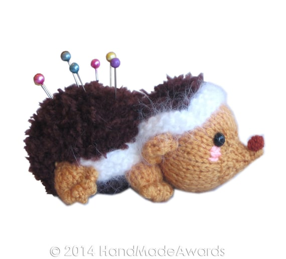 Baby HEDGEHOG Pincushion Pdf Email Knit PATTERN from ...