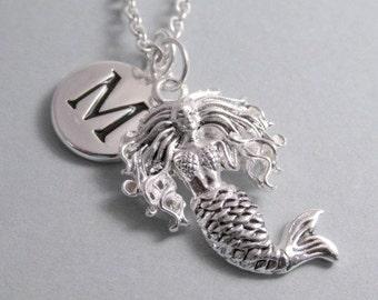 Mermaid Charm Silver Plated Charm Supplies