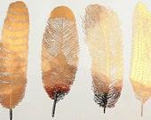 Feather Ceramic Decals, Glass Decals or Enamel Decals