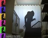 Nosferatu Shower Curtain Vampire Bathroom Decor Kids Bath Symphony of Horror 1922 Dracula
