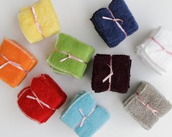 Towels, Child Size, Various Colors, Set of 5