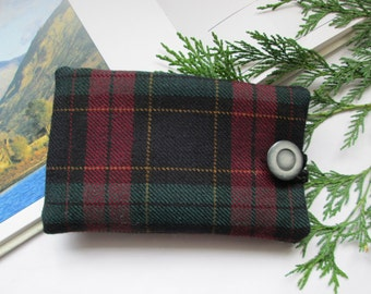 Tartan mobile phone case