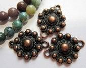 12 Tibetan style pendants Pendants Antique copper jewelry connectors ethnic design 23mm x 18mm hole 2mm  S867-SR8-4