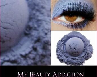 Clearance-Blue Purple Mineral Eyeshadow-Haze