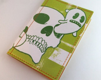 Ghosts and Skulls Passport Case
