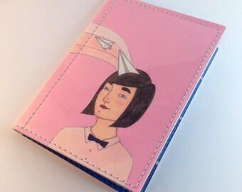 Paper Planes - Pink - Passport Case