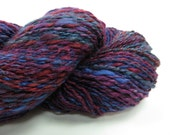 Handspun Yarn - Mawata Silk Hankies  - 235 Yards Light Fingering Weight