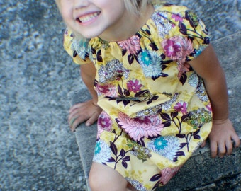 On SALE! The Tia peasant dress, size 6mos.-8 girls
