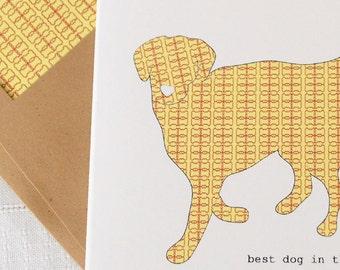 Golden Retriever Boxed Notes