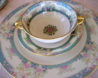 Lenox China   Monticello Pattern    Circa 1950s    8 pieces