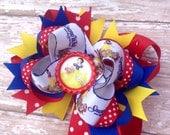 Snow White Hair Bow, Jasmine, Disney Inspired, Newborn Headband, Infant Headband, Baby Headband, Baby & Toddler, Birthday Bows, Halloween