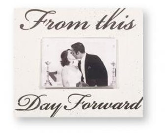 From This Day Forward 4 x 6 Photo Frame