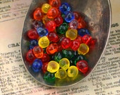 Rainbow Fringe Bead Mix or Beads and Jump Rings - Perfect for Shaggy Earrings, Rings, Necklaces